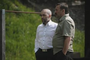 Депутаты всегда серьёзны: Алексей Фёдоров и Алексей Крылов.